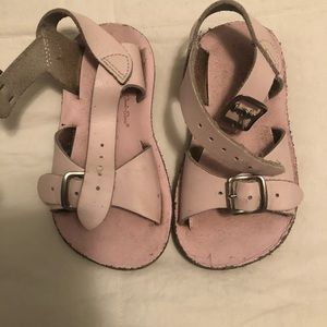 Pink sandals size 6